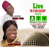 Live Worship on Amansan TV
